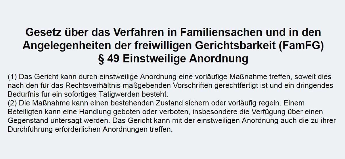 Familiengericht Kiel erlässt auf unseren Antrag einstweilige ...